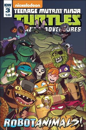 Teenage Mutant Ninja Turtles Amazing Adventures: Robotanimals 3-A