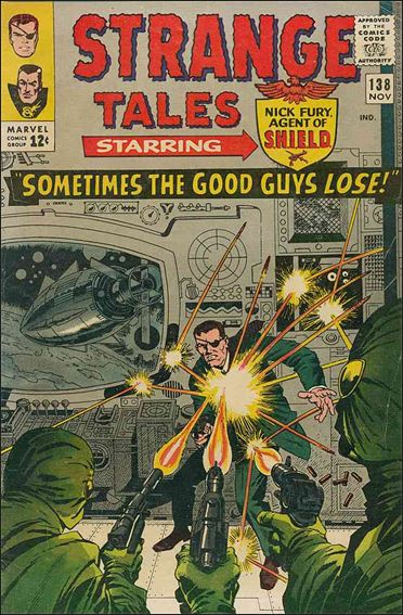 Strange Tales (1951) 138-A by Marvel