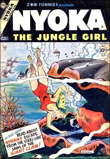 Zoo Funnies (1953) 10-A by Charlton