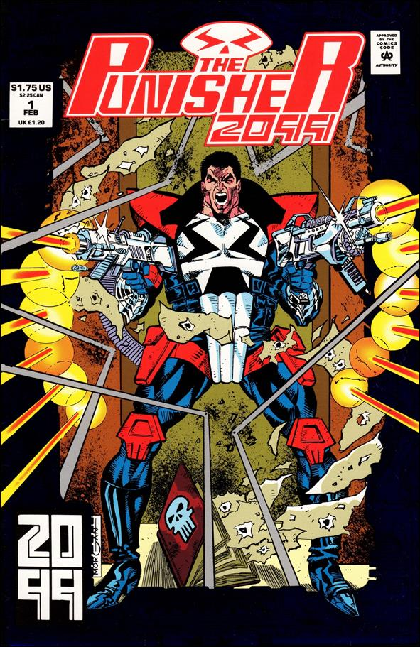 Punisher 2099 (1993) 1-A by Marvel
