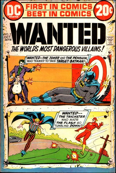 Wanted, the World's Most Dangerous Villains 2-A by DC