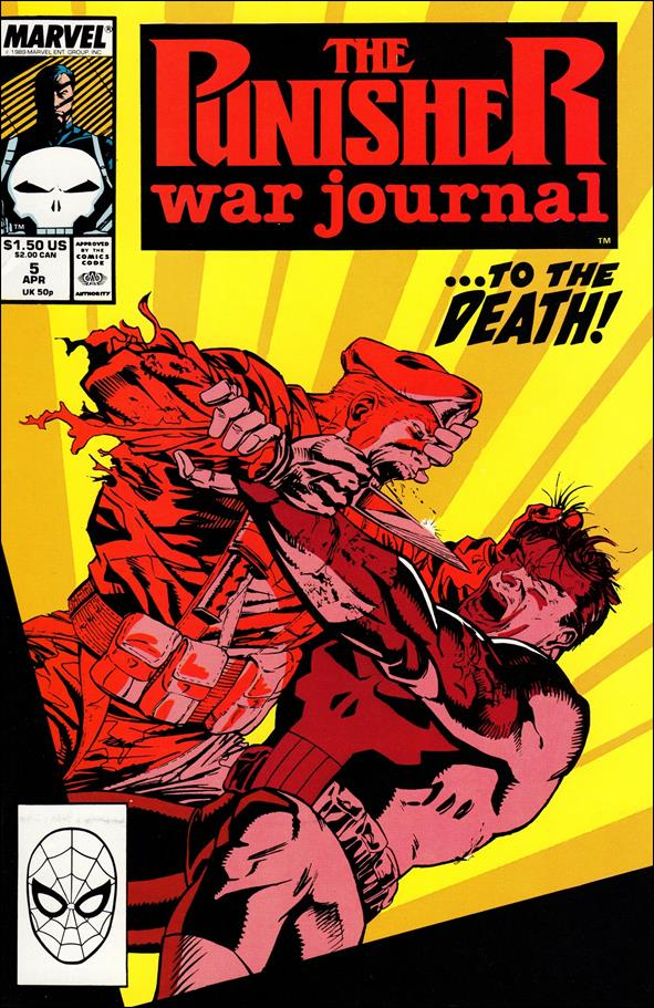 Punisher War Journal (1988) 5-A by Marvel