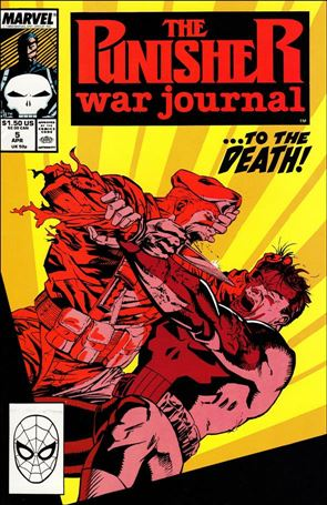 Punisher War Journal (1988) 5-A