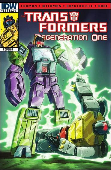 Transformers: Regeneration One 88-A by IDW