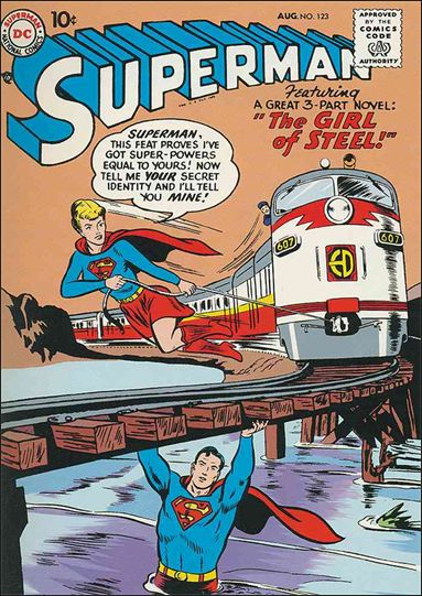 Superman (1939) 123-A by DC