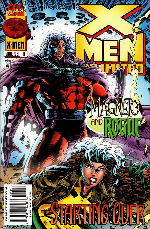 X-Men Unlimited (1993) 11-A by Marvel