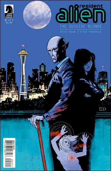 Resident Alien: The Suicide Blonde 2-A by Dark Horse