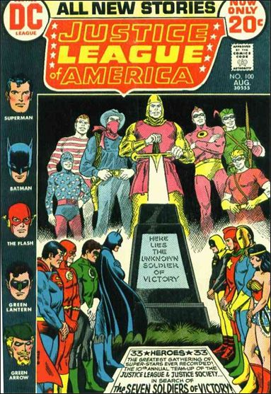 Justice League of America (1960) 100-A by DC