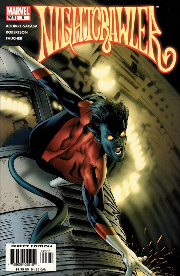 Nightcrawler (2004) 5-A by Marvel