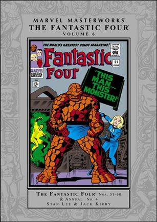 Marvel Masterworks: The Fantastic Four 6-A