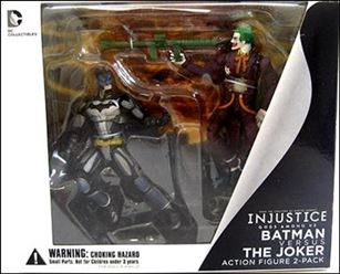 Injustice: Gods Among Us (2-Packs) Batman versus Joker
