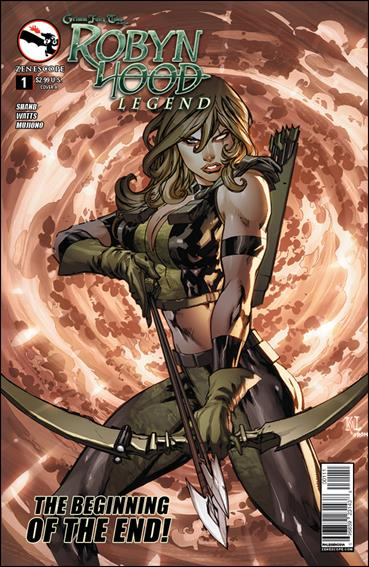 Grimm Fairy Tales Presents Robyn Hood: Legend 1-A by Zenescope Entertainment