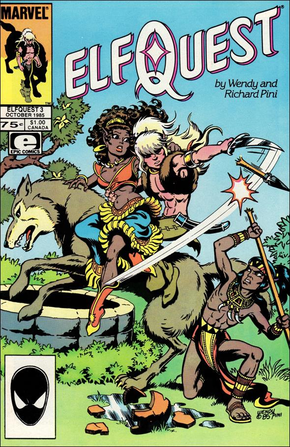Elfquest (1985) 3-A by Epic
