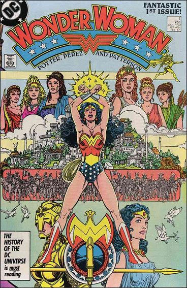 Wonder Woman (1987) 1-A by DC