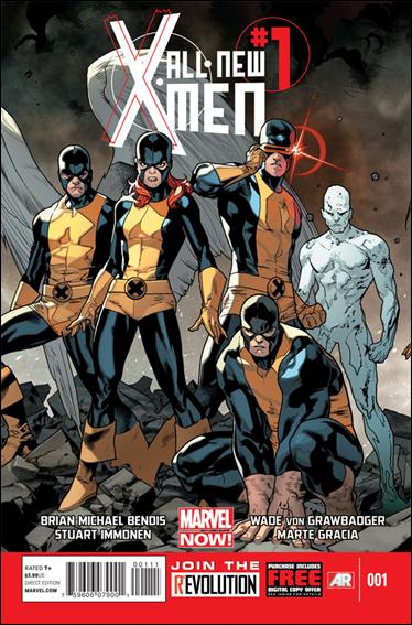 All-New X-Men 1-A by Marvel