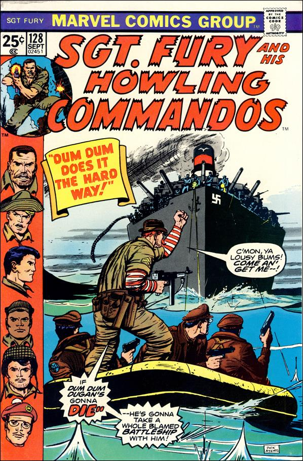 Sgt. Fury and His Howling Commandos 128-A by Marvel