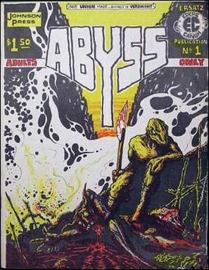 Abyss (1976) 1-A by Johnson Press