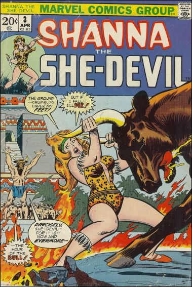 Shanna the She-Devil (1972) 3-A by Marvel