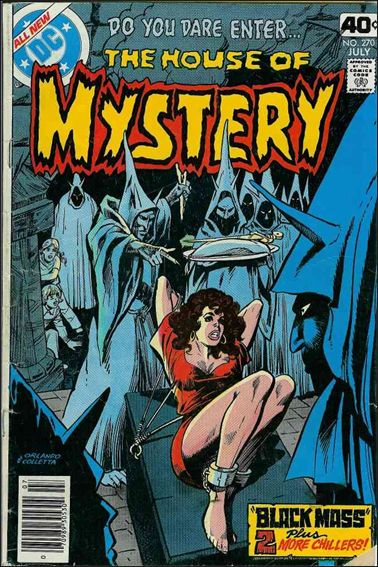 House of Mystery (1951) 270-A by DC