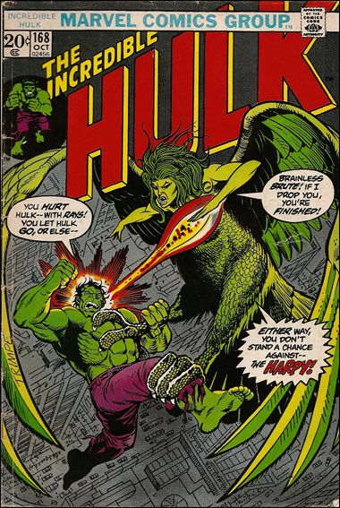 Incredible Hulk (1968) 168-A by Marvel