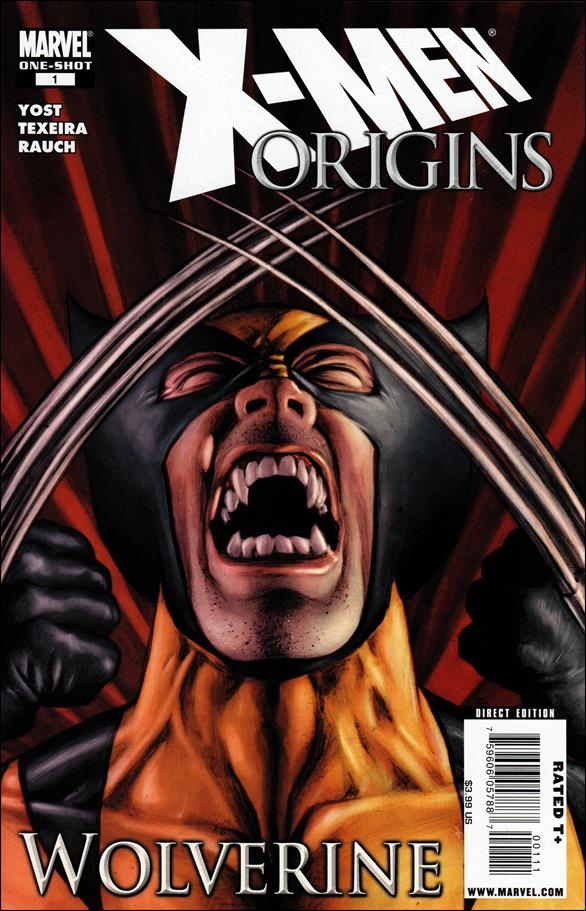 X-Men Origins: Wolverine 1-A by Marvel