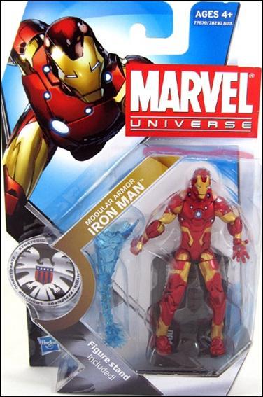 Marvel Universe (Series 3) Iron Man (Modular Armor) by Hasbro