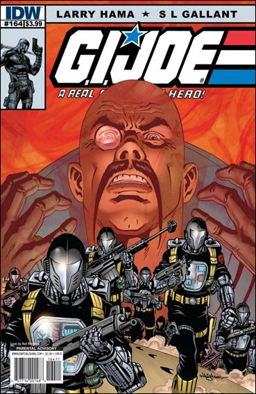 G.I. Joe: A Real American Hero 164-B by IDW