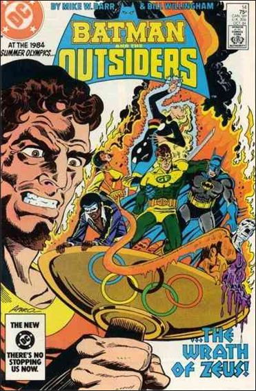Batman and the Outsiders (1983) 14-A by DC