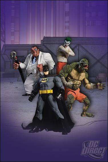 Arkham Asylum Box Set Arkham Asylum Bok Set 4-Pack by DC Direct