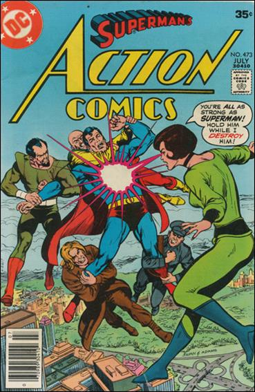 Action Comics (1938) 473-A by DC