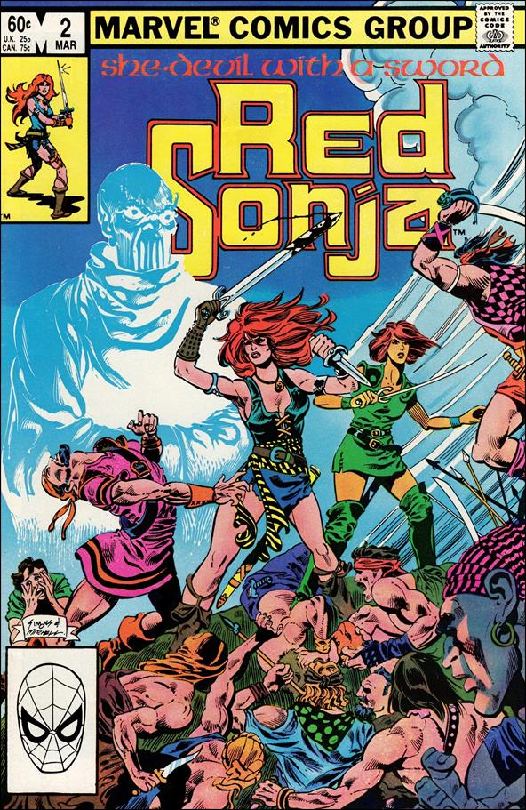 Red Sonja (1983/02) 2-A by Marvel