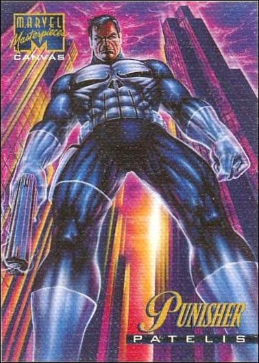 1995 Marvel Masterpieces (Canvas Subset) 17-A by Fleer