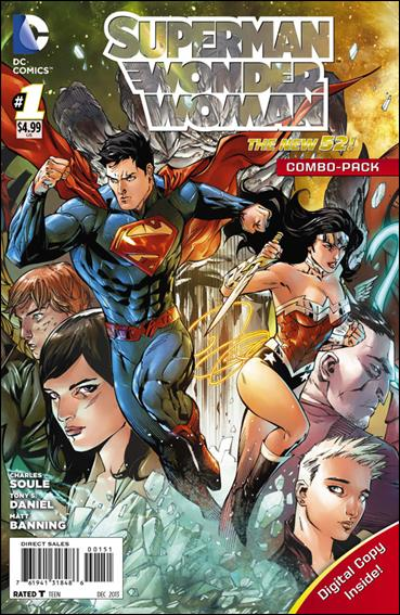 Superman/Wonder Woman 1-C by DC