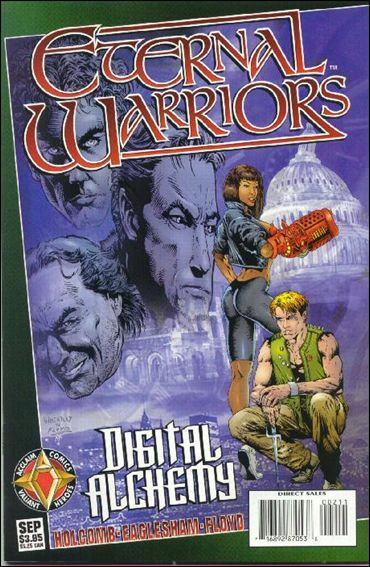 Eternal Warriors: Digital Alchemy 1-A by Acclaim