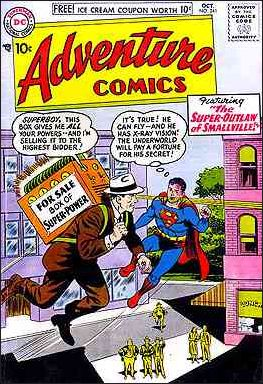 Adventure Comics (1938) 241-A by DC