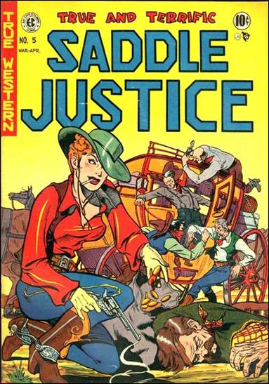 Saddle Justice 5-A by E.C.