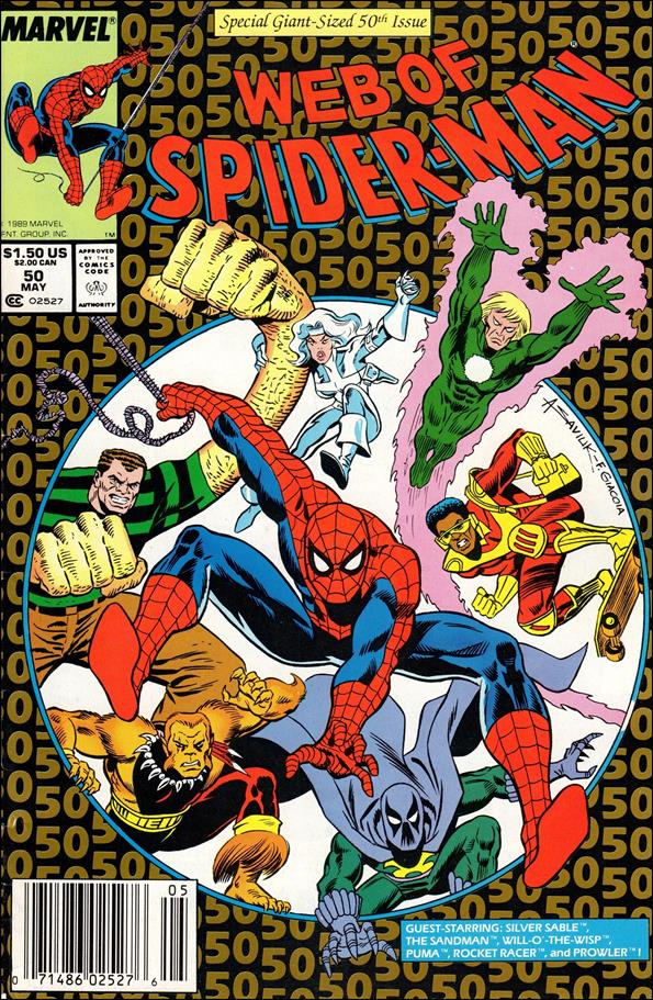 Web of Spider-Man (1985) 50-A by Marvel