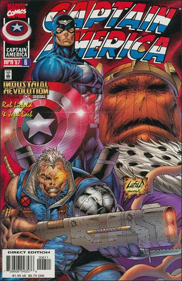 Captain America (1996) 6-A by Marvel