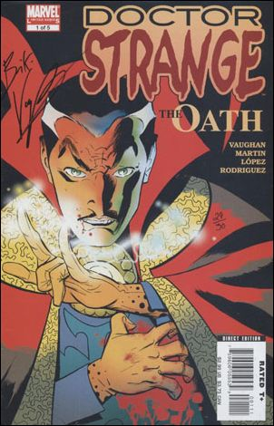 Doctor Strange: The Oath 1-C by Marvel