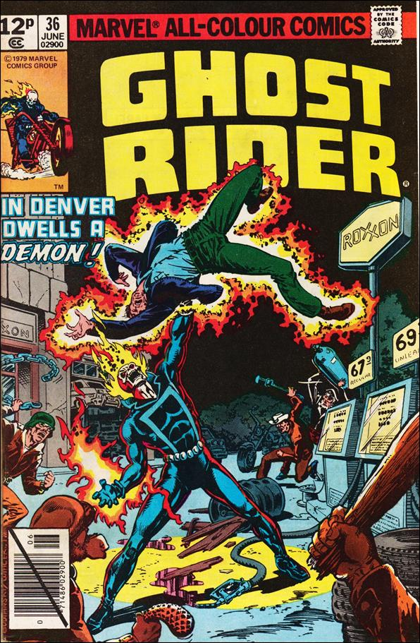 Ghost Rider (1973) 36-B by Marvel