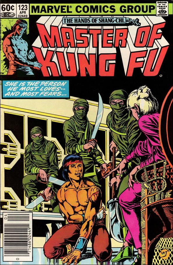 Master of Kung Fu 123-A by Marvel