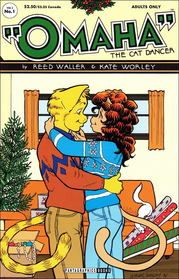 Omaha the Cat Dancer (1994) 1-A by Fantagraphics