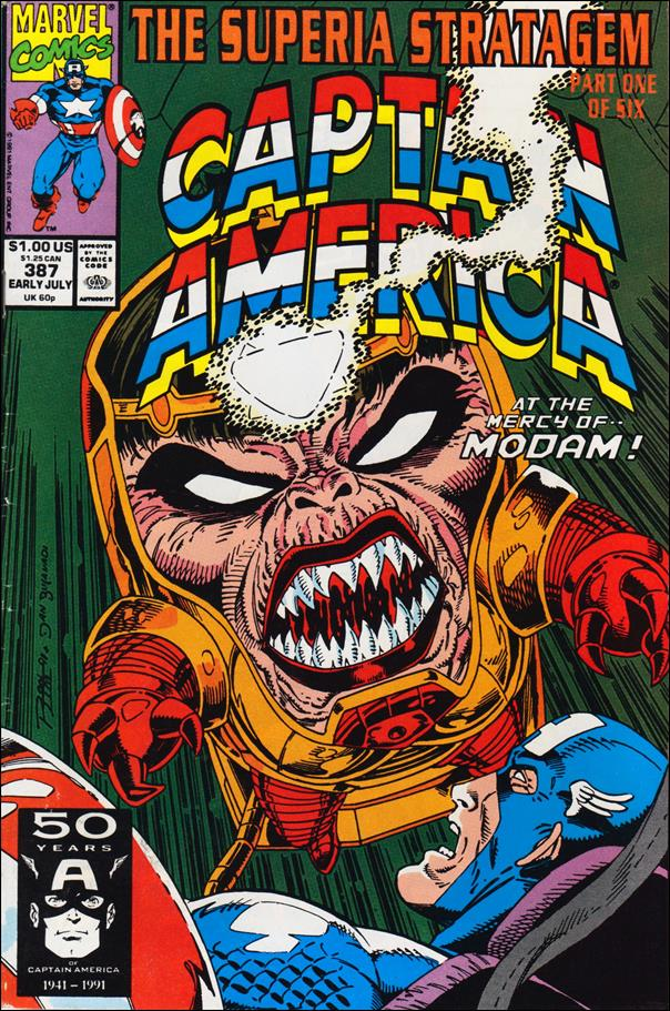 Captain America (1968) 387-A by Marvel