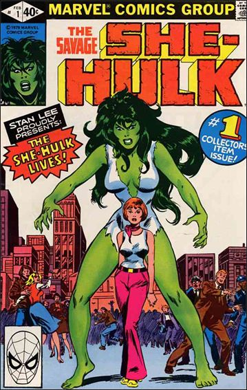 Savage She-Hulk 1-A by Marvel