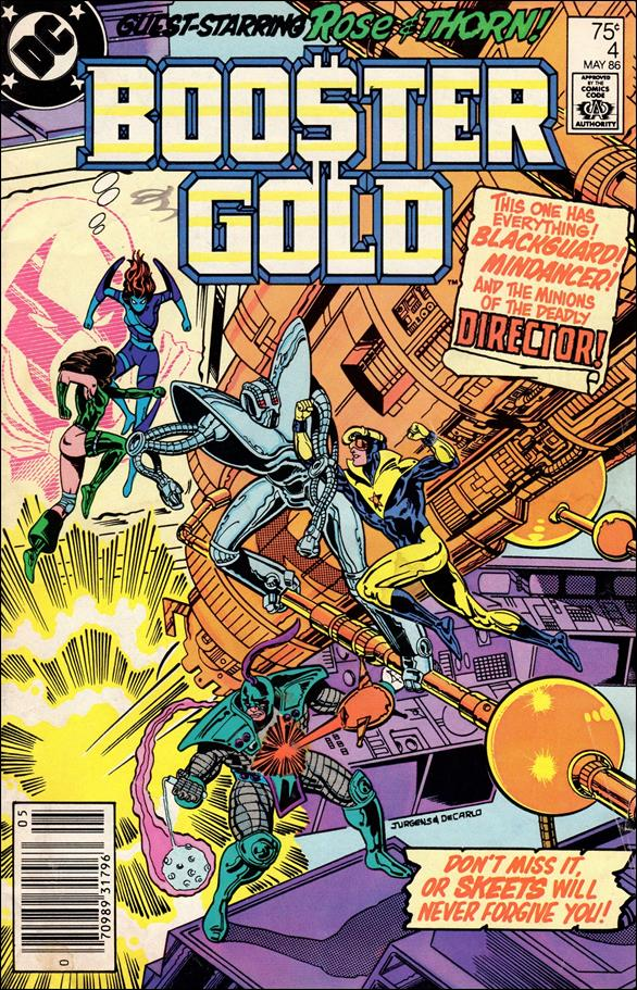 Booster Gold (1986) 4-A by DC