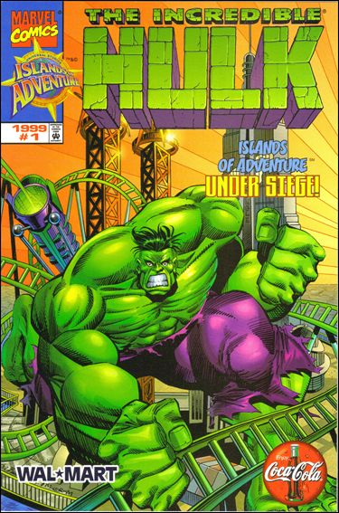 Incredible Hulk: Islands of Adventure Under Siege 1-A by Marvel