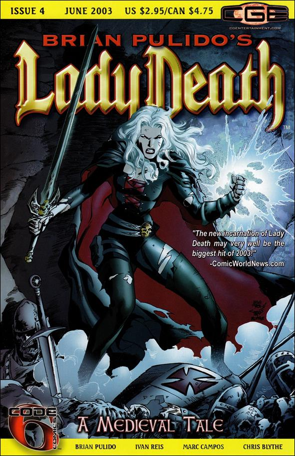 Brian Pulido's Lady Death: A Medieval Tale 4-A by CrossGen