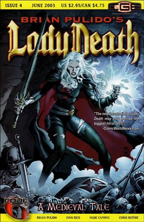 Brian Pulido's Lady Death: A Medieval Tale 4-A