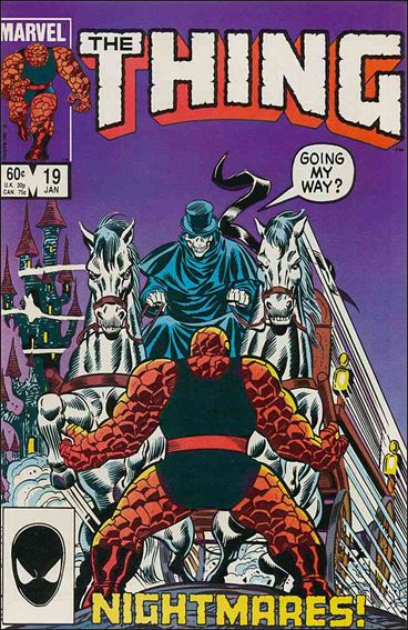 Thing (1983) 19-A by Marvel