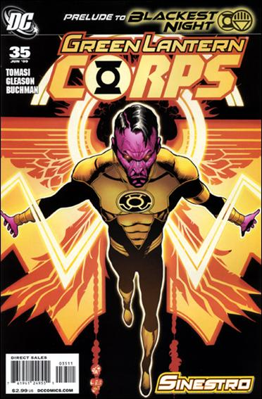 Green Lantern Corps (2006) 35-C by DC